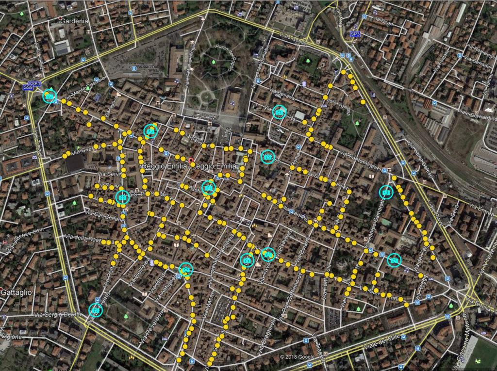 Volantinaggio con tracciatura GPS